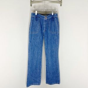 See by Chloe High Waisted Wide Pocket Jeans